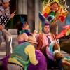 Friendly fairies frolic in fantastical Freewill festival