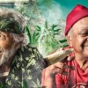 Cheech and Chong and Gaye Delorme