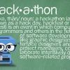 City hackathon touts open data, shuns footbags