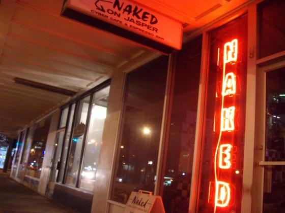 Naked Cyber & Espresso Bar, Edmonton