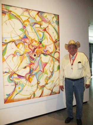 Art Talent Overcomes Cultural Supression In Alex Janvier At The Aga Gig City