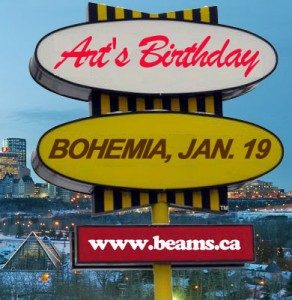 GigCity Edmonton Arts Birthday
