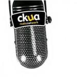 ckua logo with microphone
