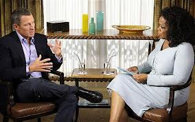 GigCity Oprah Winfrey and Lance Armstrong