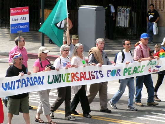 unitarian peace march