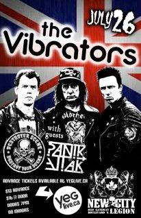 Vibrators postert