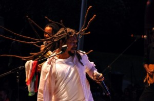 The Wailers perform at Open Sky 2012