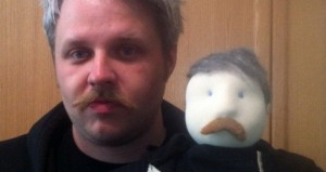 Craig Martell, left, and Craig Puppet