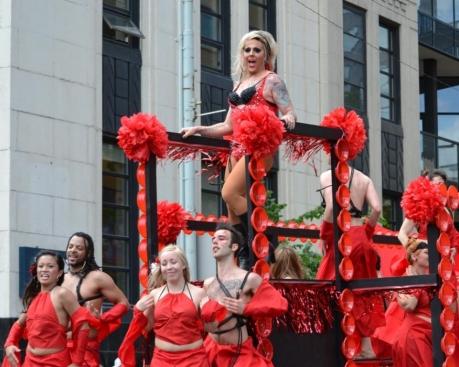 GigCity Edmonton Pride Parade 2012