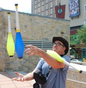 Edmonton International Street Performers Festival GigCity