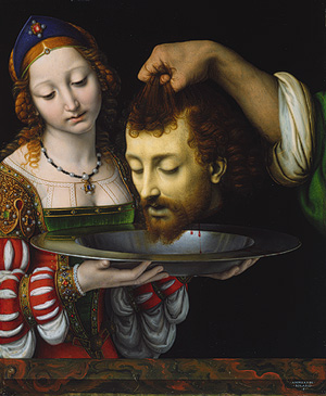 Painting by Andrea Solario (circa 1506)