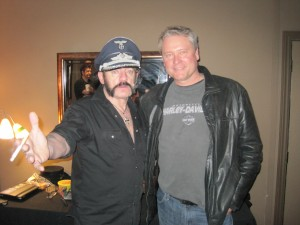 With Lemmy!