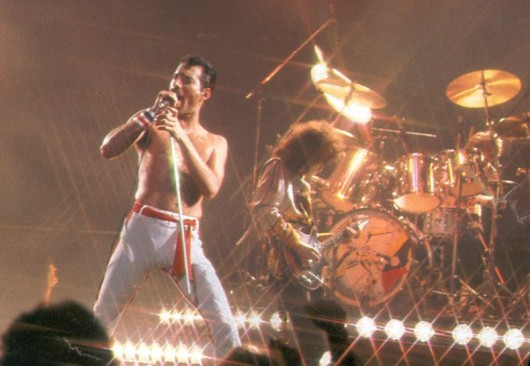 Queen with Freddie Mercury