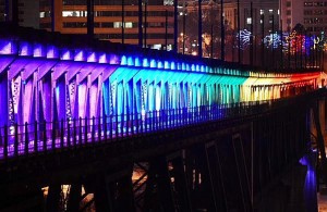 Rainbow High Level Bridge GigCity Edmonton