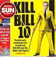 Edmonton Sun front page Dec. 5 2014 GigCity