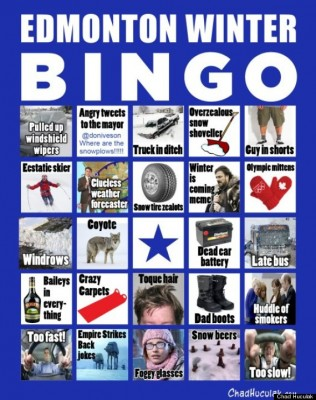 Winter Bingo