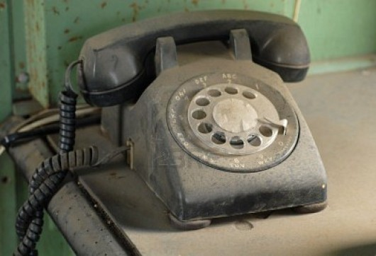 Phone lines used to get dusty