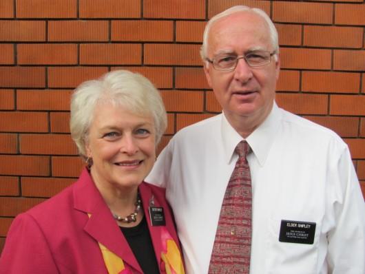 Elder and Sister Shipley Mormon GigCity Edmonton