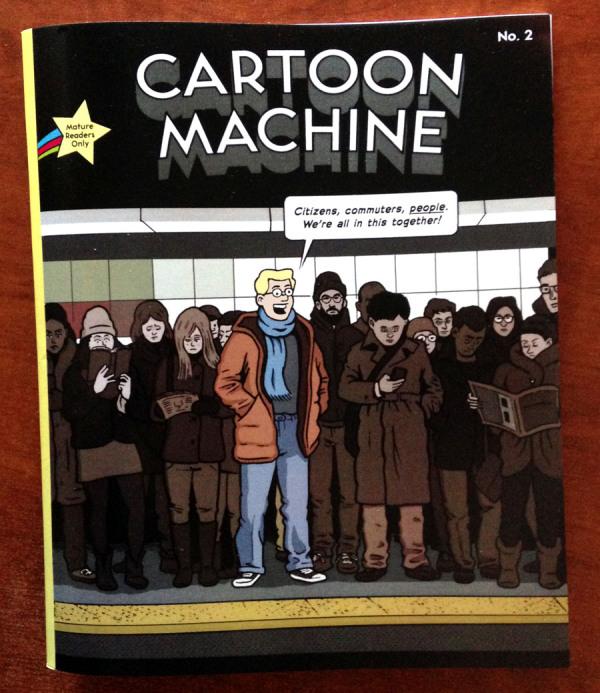 Cartoon Machine GigCity Edmonton