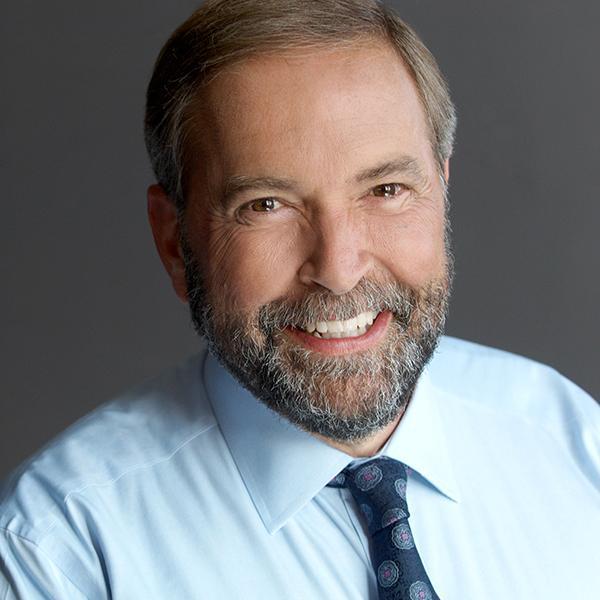 Thomas Mulcair NDP GigCity Edmonton