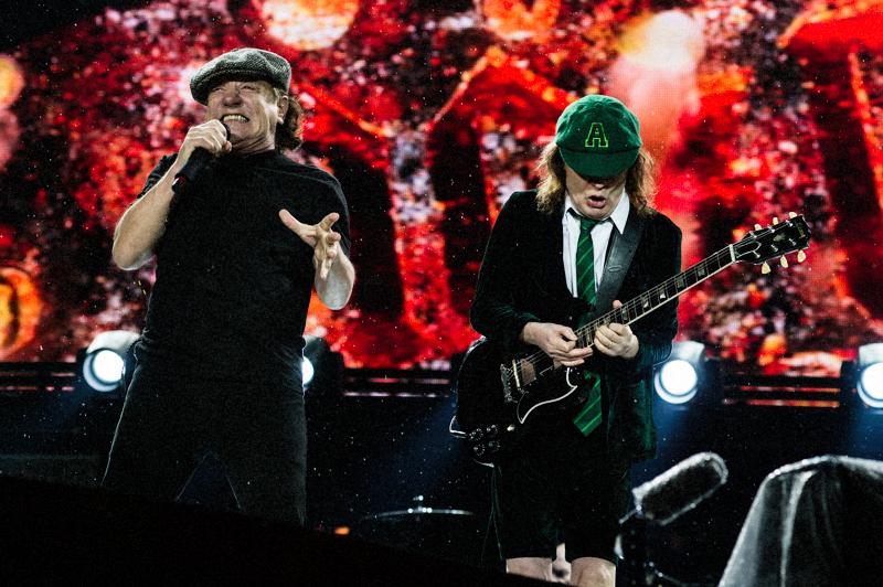 Brian Johnson Angus Young AC/DC GigCity Edmonton