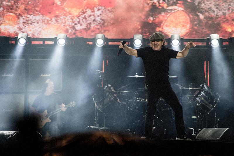 Brian Johnson AC/DC GigCity Edmonton