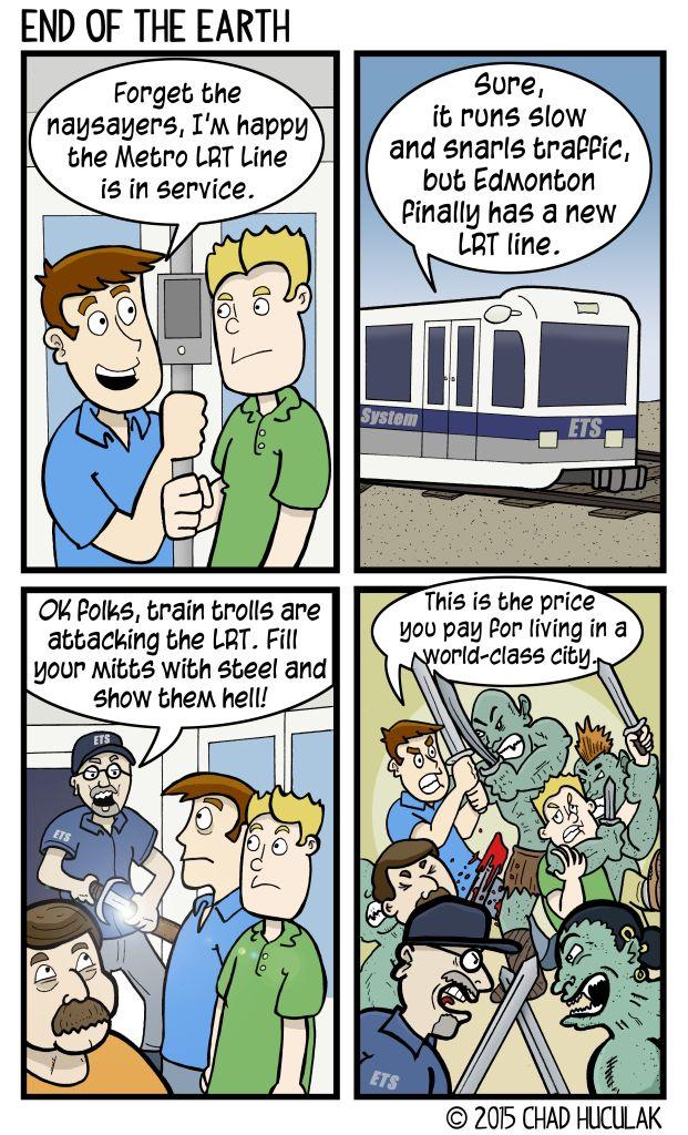 Edmonton LRT Metro Line GigCity