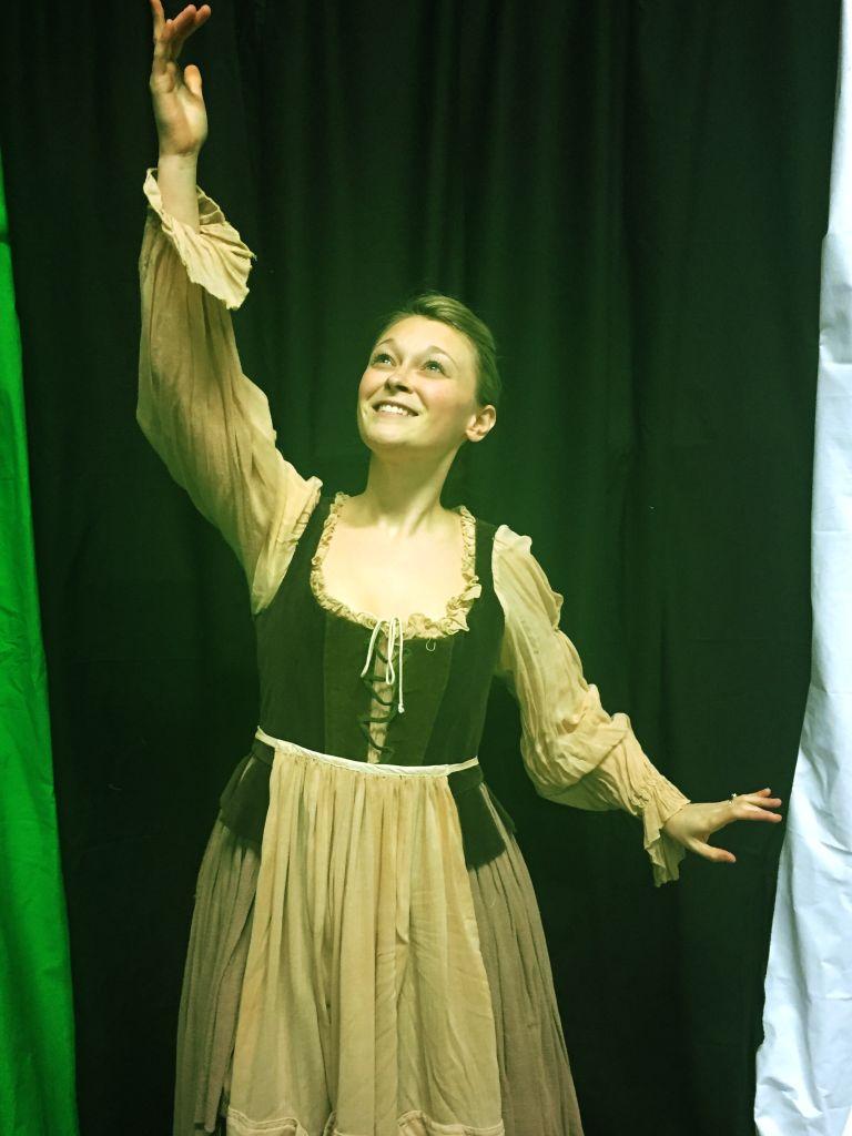 Victoria Trevoy as Cinderella