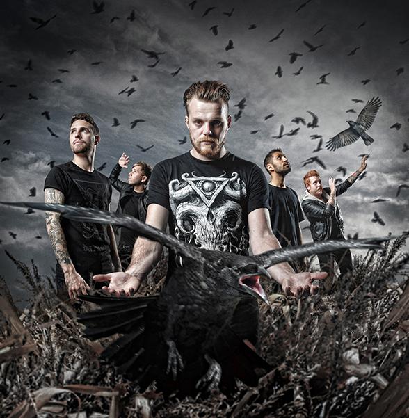 The Raven Age GigCity Iron Maiden Edmonton