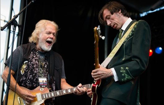 Randy Bachman performs with The Sadies' Dallas Good