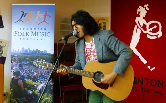 Mohsin Zaman folk fest GigCity Edmonton