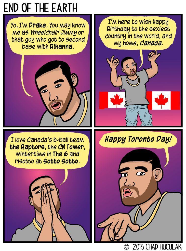 Canada Day Drake GigCity Edmonton