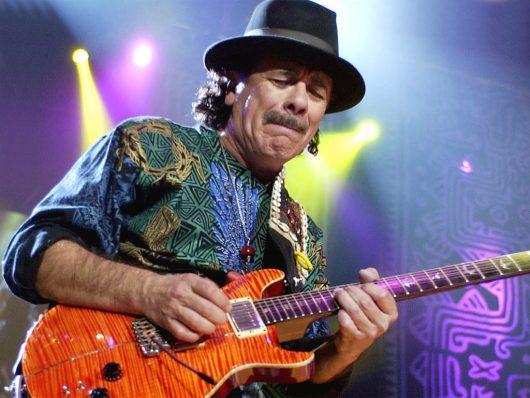 Carlos Santana GigCity Guitar Face Edmonton