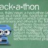 City hackathon touts open data, shuns footbags