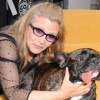EXCLUSIVE: Carrie Fisher's dog loves Milk Bones