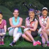 FORE! Locals let loose on links in Ladies Foursome