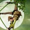 PLAYBILL: Robin Hood flower